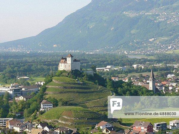 Palast  Schloß  Schlösser  Liechtenstein