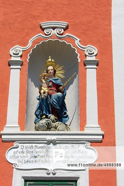 Regenwald  Jungfrau Maria  Madonna