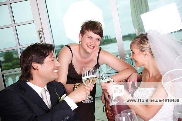 Hochzeit  Golfsport  Golf  Verein