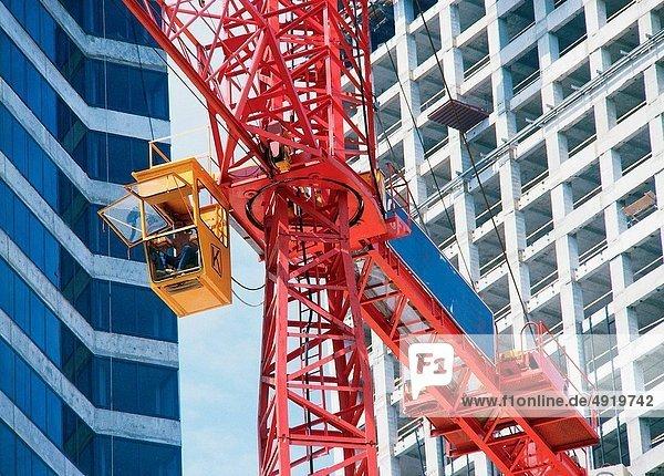 Kranich, bauen, Gebäude, Turmkran