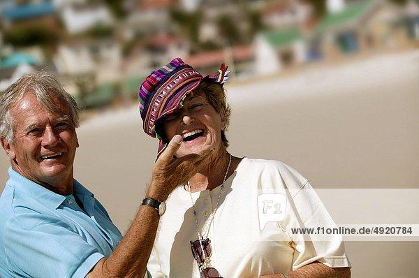 Fröhlichkeit  Urlaub  Senior  Senioren