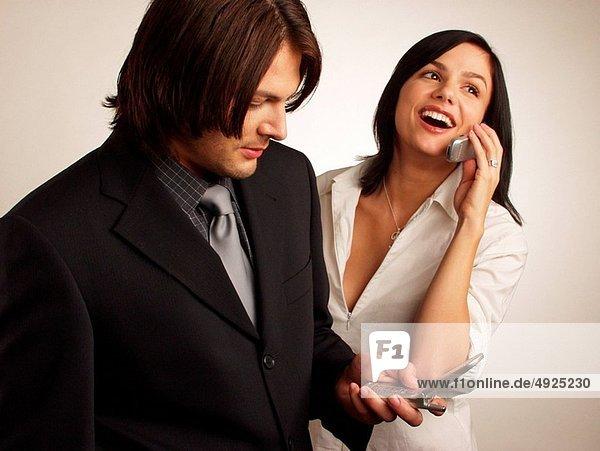 Couple phone