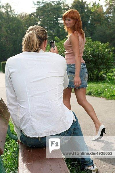 Frau  Mann  Fotografie
