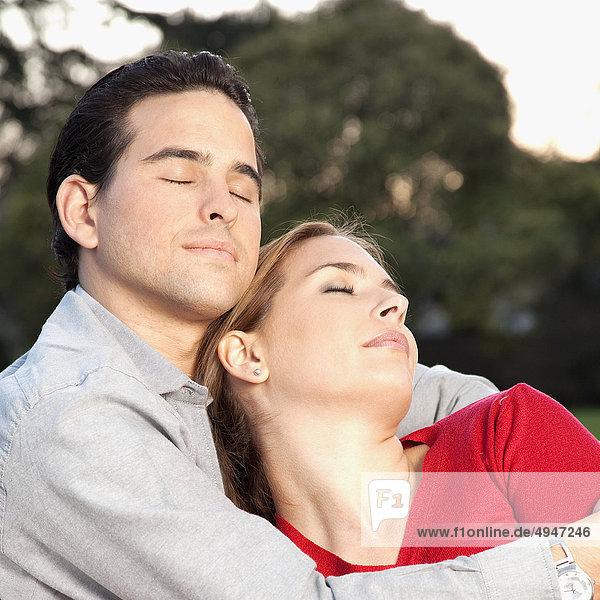 Nahaufnahme von einem Paar