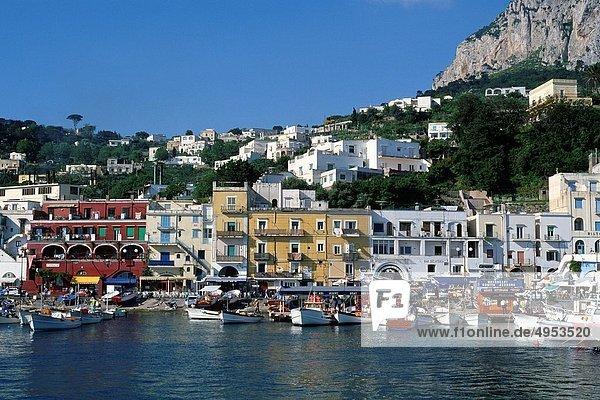 Kampanien  Capri  Italien  Marina Grande