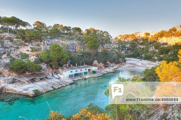 Spanien  Balearen  Mallorca  Blick auf Cala pi