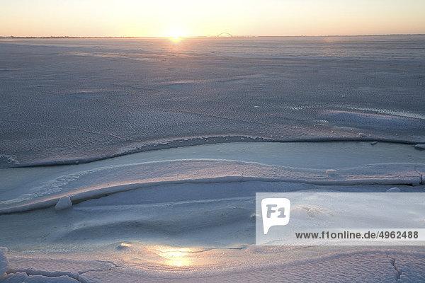Sonnenaufgang - Fehmarn