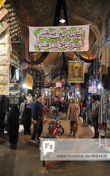 Iran  Isfahan  Gran Bazaar  Markt