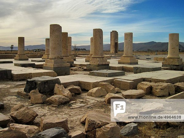 Iran  Pasargadae  ruins of the palace