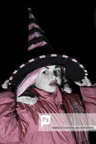 Kleidung  Mädchen  Hexe