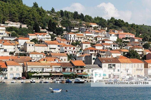 Hafen  Insel  Kroatien  Dalmatien  Korcula