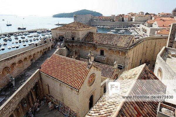 Dubrovnik  one of the most popular tourist destinations  Croatia  UNESCO