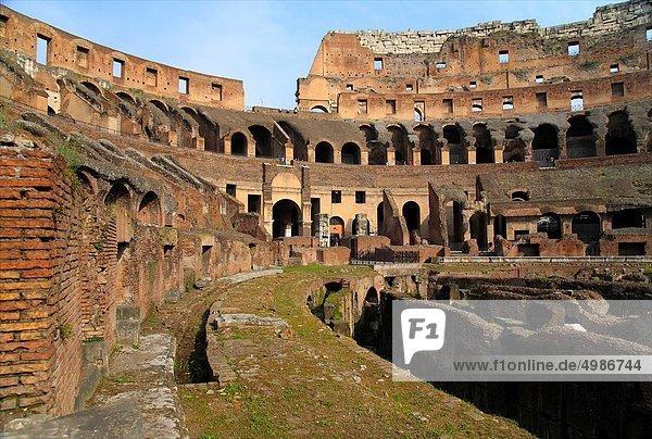 Rom  Hauptstadt  innerhalb  Latium  Kolosseum  Italien