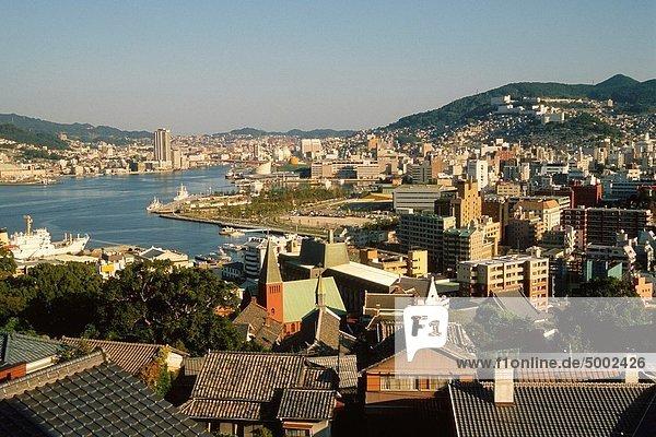 Skyline  Skylines  Japan  Kyushu  Nagasaki