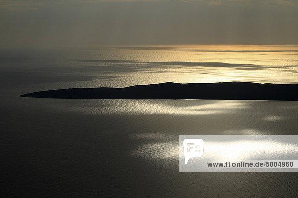 Sonnenaufgang an der Adria bei Unije  Kroatien