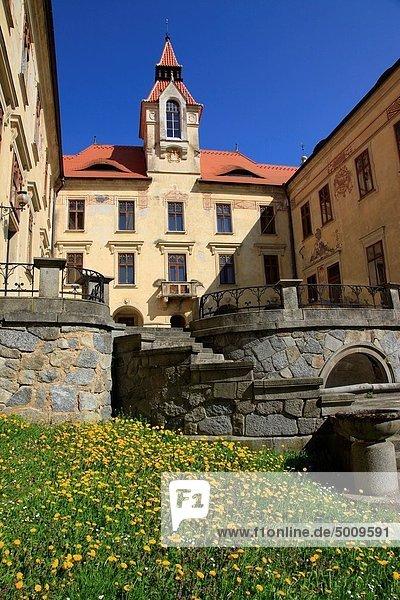 Binnenhafen ,Europa ,Palast, Schloß, Schlösser ,Tschechische Republik, Tschechien