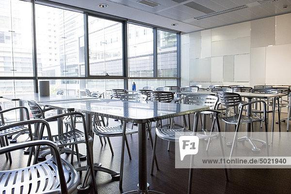 Leere Cafeteria