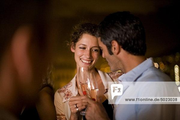 Wein  Nacht  Terrasse