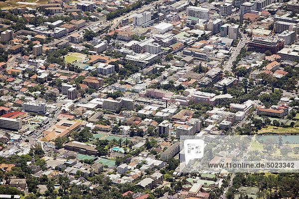 Stadtansicht  Stadtansichten  Ansicht  Luftbild  Fernsehantenne