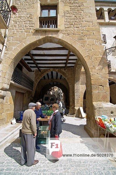 Calaceite Matarraña  Teruel Aragon Spain