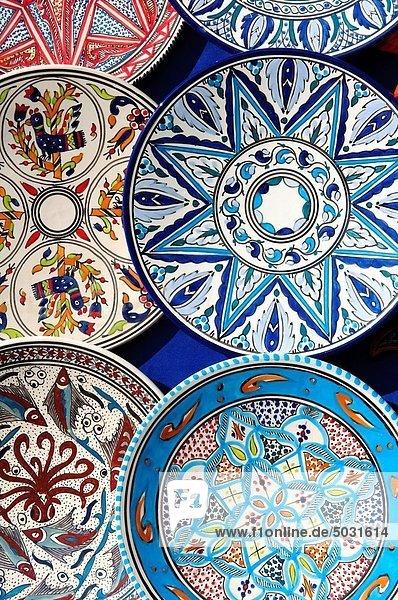 Tunesien  traditionelle Keramik