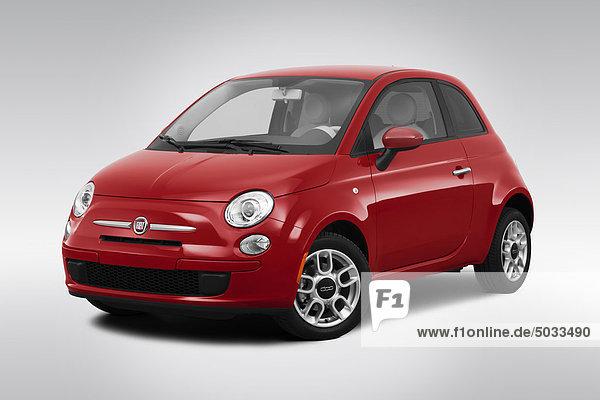 Menschlicher Vater frontal rot Ansicht Flachwinkelansicht 500 Winkel Fiat