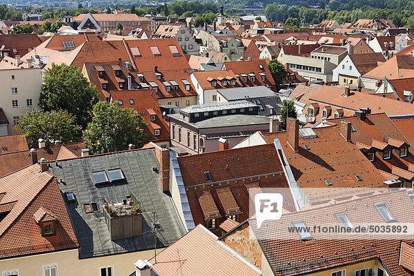 Deutschland  Bayern  Oberpfalz  Regensburg  Stadtansicht