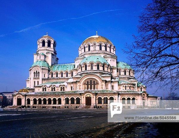Sofia  Hauptstadt  Kathedrale  Bulgarien