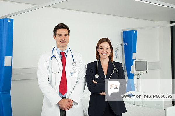 Portrait von Ärzten und Ärztinnen