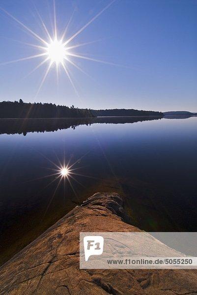 Rauch Lake Algonquin Provincial Park  Ontario