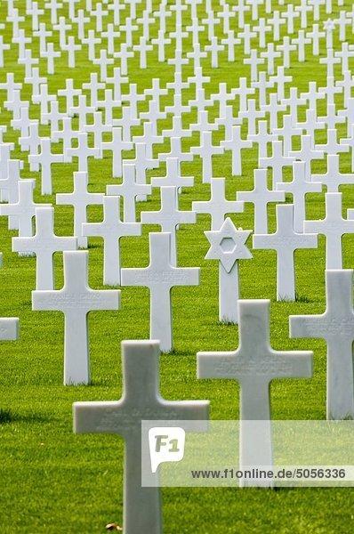 Florenz American Cemetery and Memorial  Toskana  Italien