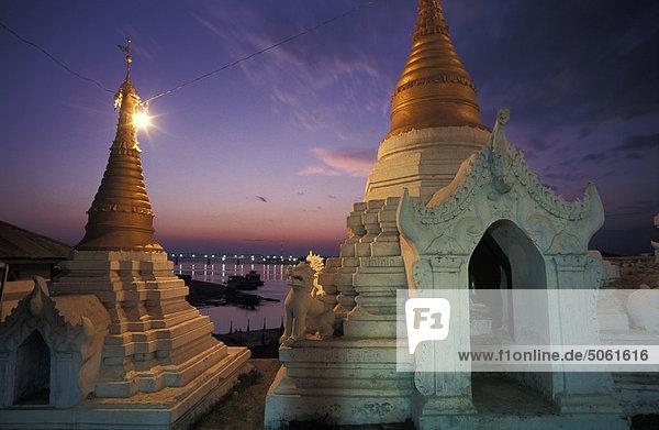Birma  Mandalay Shaykyatyet Pagode