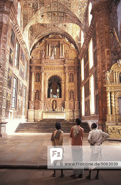 Indien  alte Goa  St. Francis-Kirche