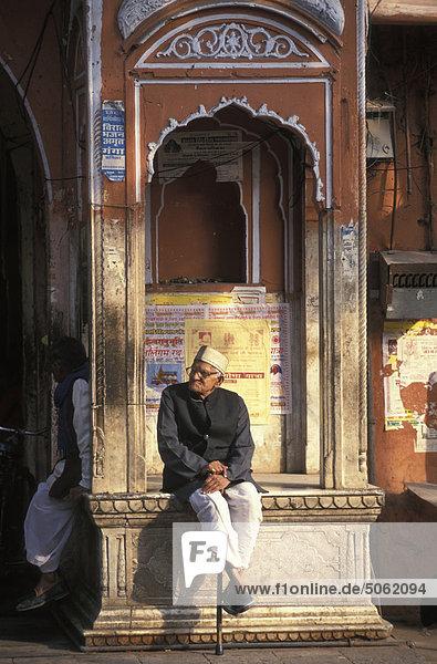 India  Rajasthan  Jaipur. Die Rosa Stadt.