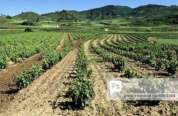 Europa  Spanien  Galicien  Santiago de Compostela  La Rioja-Landschaft