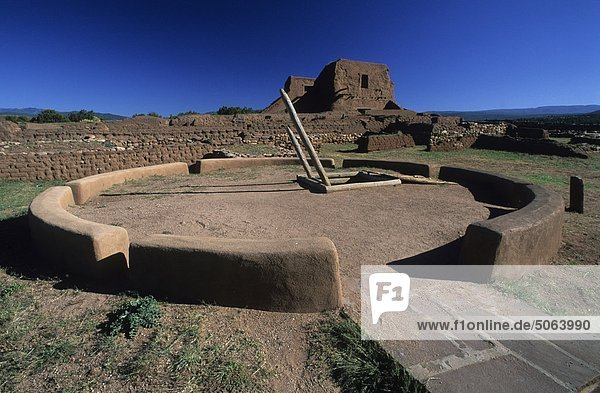 USA  New Mexico  Pecos National monument