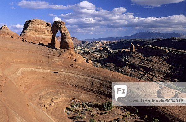 USA Utah.Arches Naturpark  zarte Arch