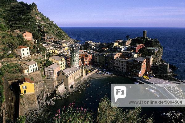 Italy  Liguria  Cinque Terre  Vernazza
