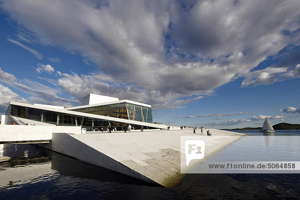 Norway  Oslo  the Opera House