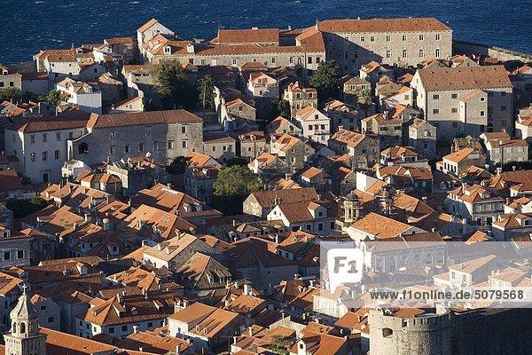Stadtansicht Stadtansichten Kroatien Dubrovnik