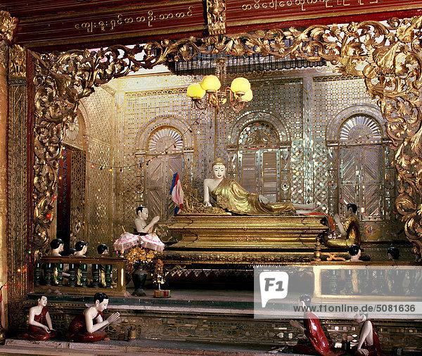 Myanmar  Mandalay  Buddha-statue