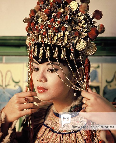 Chinesische Braut  Penang  Malaysia