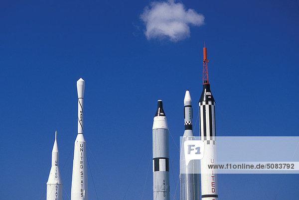 Raketen  Kennedy Space Center  Florida  USA