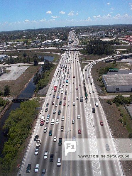 USA  Florida  Miami highway