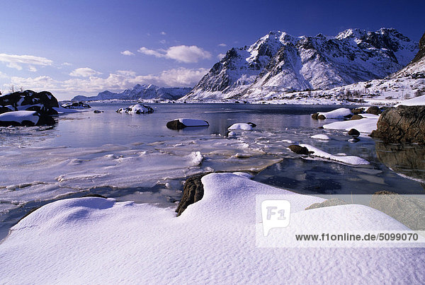Norwegen  Lofoten-Inseln  Landschaft