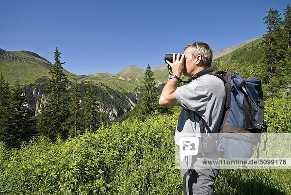 Frankreich  Rhône-Alpes  Savoie  Vanoise-Nationalpark  Plan du Lac Flüchtling
