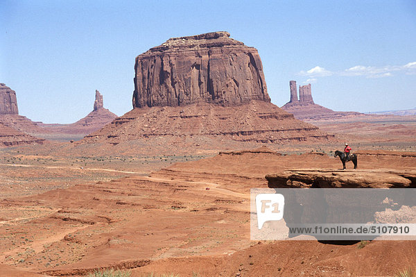 USA  Arizona  s.w. Wüste  Denkmal-Senke