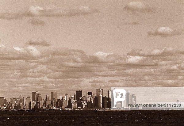 Vereinigte Staaten von Amerika USA New York City Innenstadt Manhattan