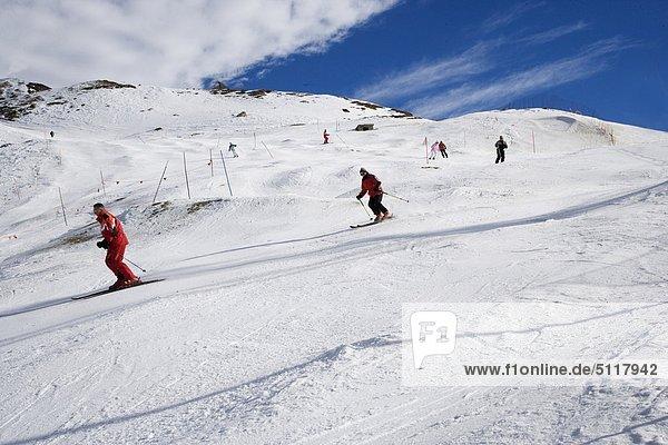 Breuil-Cervinia, Aostatal, Italien