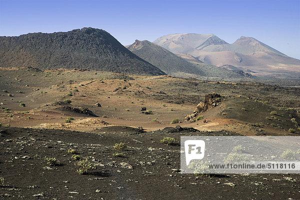 Spanien - Kanarische Inseln  Lanzarote  Nationalpark Timanfaya